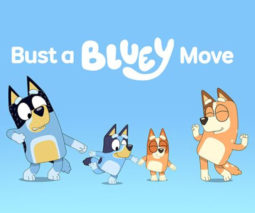 Bluey Dance Mode Facebook filter