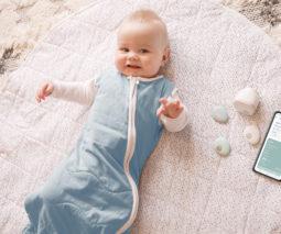 SmartSnugg - baby monitoring sleeping bag system