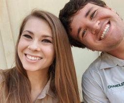 Bindi Irwin and husband Chandler Powell