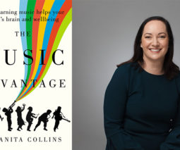 Dr Anita Collins and her book The Music Advantage