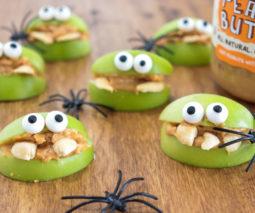 Apple Monsters healthy Halloween recipe