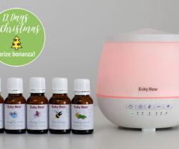 Euky Bear Sleep Aid and aromatherapy oils - feature