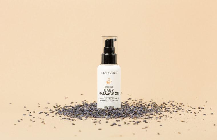 Lovekins Baby Skincare massage oil
