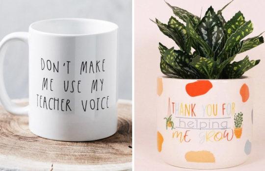 Christmas gift ideas for your kids' teachers