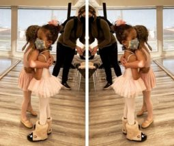 Chrissy Teigan daughter Luna in cute boots feature