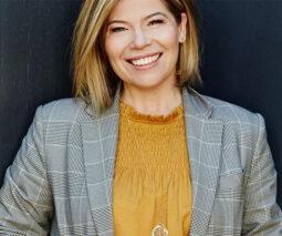 Presenter and playwright Melanie Tait