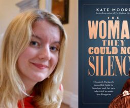 Author Kate Moore and her book
